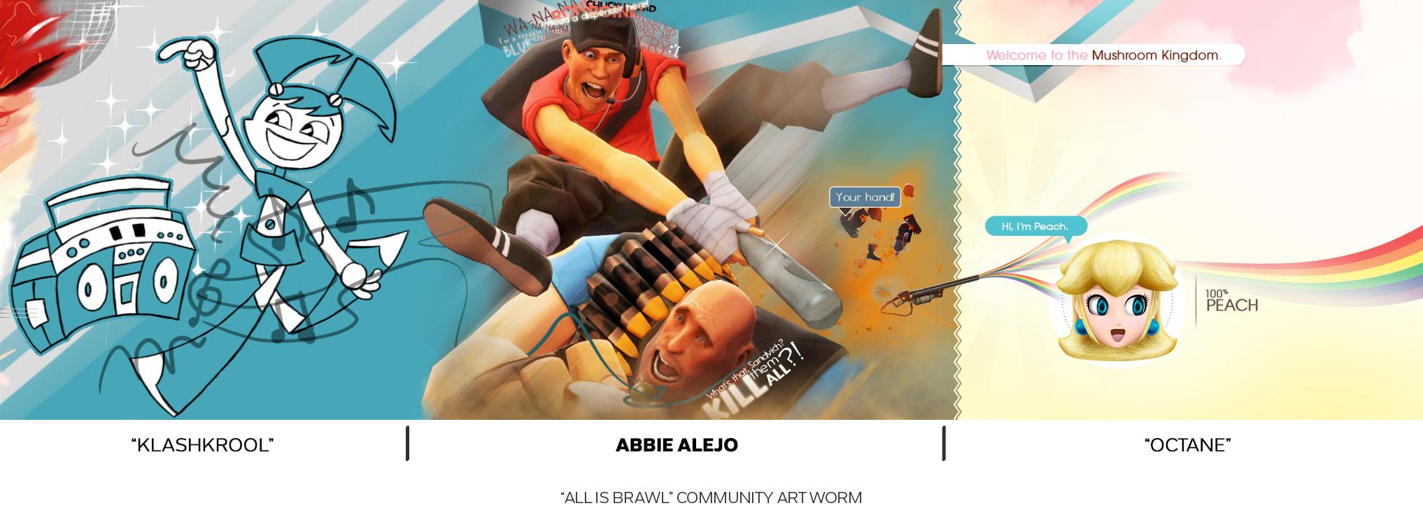 """All is Brawl Community """"Art Worm"""""""