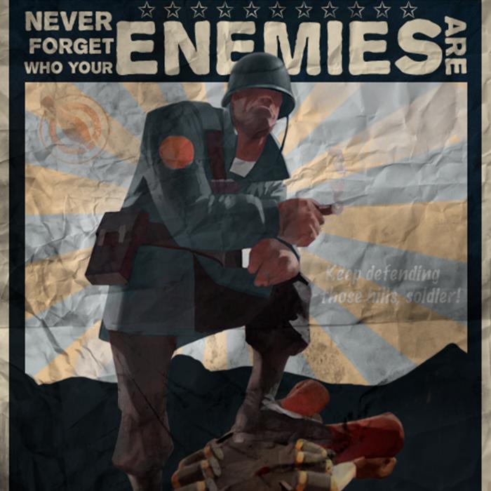 Soldier vs Demo